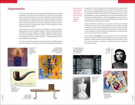 Brochure institutionnelle de l'adagp - Tout pour plaire 01