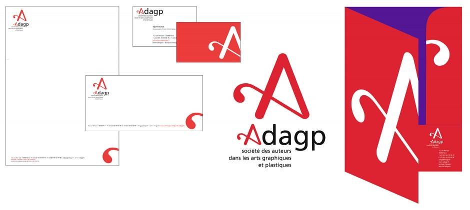 Identite visuelle de l'adagp - Tout pour plaire 01